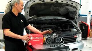 Fallo de compresor de aire de Mercedes Vito