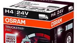 Osram 'optimiza' su gama de lámparas Truckstar Pro para camiones