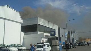 Extinguido un incendio en un taller de Palma de Mallorca