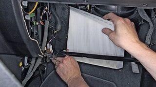 Por qué cambiar el filtro de aire del habitáculo