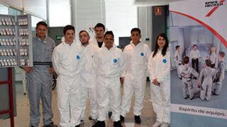 Alumnos de FP de Madrid participaron en una formación de pintura de Axalta
