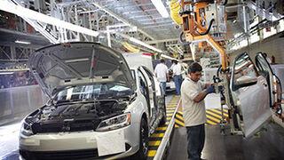 La producción de vehículos crece el 4,7% en el primer trimestre