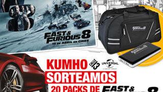 Kumho regala 20 packs con material promocional de Fast & Furious