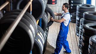 No podrán venderse neumáticos poco eficientes a partir de mayo