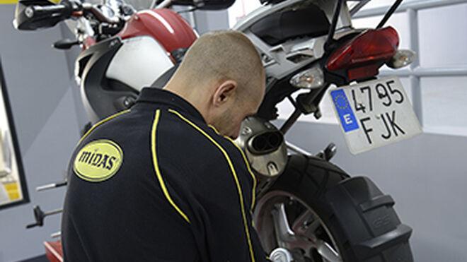 Nuevo centro de mantenimiento de motos Midas en Barcelona