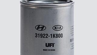 UFI Filters lanza un filtro gasoil para aplicaciones Hyundai y Kia