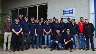 Vallesanauto imparte un curso de productos Revolución Xtreme de Standox en Peñíscola