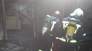 Sofocado un incendio en un concesionario Peugeot de Tudela