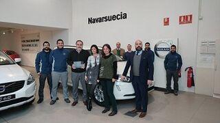 Volvo Navarsuecia, mejor concesionario de la marca en España
