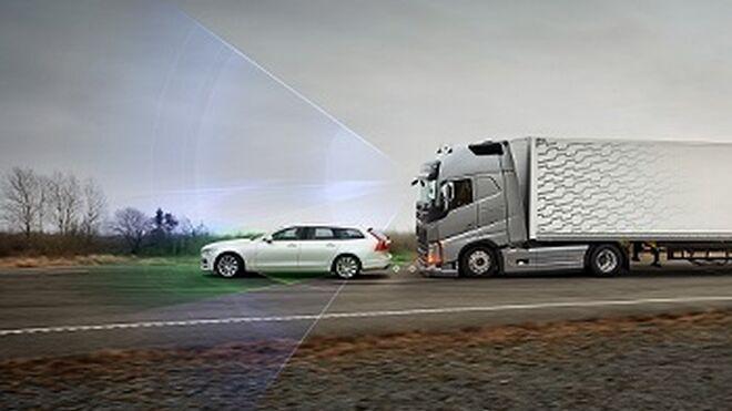 Volvo Trucks avisa a los conductores en caso de colisión