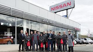Nissan premia al equipo posventa de Nissan Arre Motor