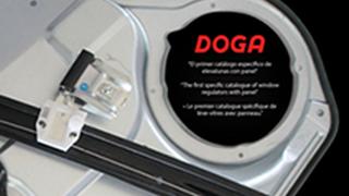 Doga edita catálogo de elevalunas con panel