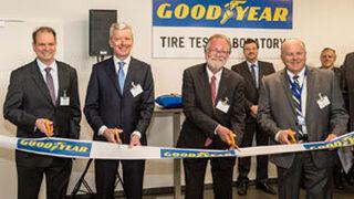 Goodyear abre un laboratorio de pruebas de neumáticos