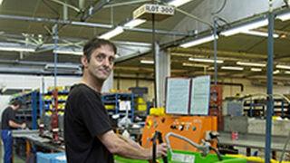 Lecomble & Schmitt emplea soluciones Mewa en la limpieza de sus máquinas