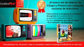 CertifiedFirst patrocina 'El Chiringuito de Jugones'