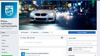 Philips Automoción estrena perfil en Facebook