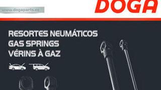 Doga amplía su catálogo de resortes neumáticos