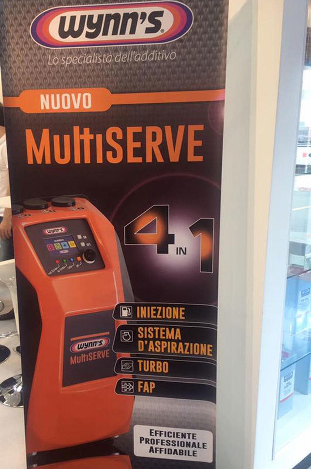 La máquina Multiserve de Winn's, entre las novedades de la feria.