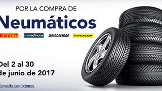 Norauto descuenta 70 € con la compra de neumáticos