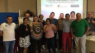 Cañizares Piñero y Nexa Autocolor forman en gestión financiera