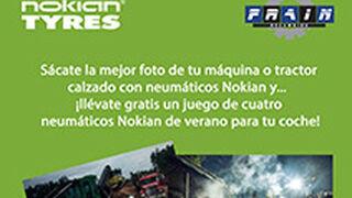 Recambios Frain regala neumáticos Nokian en una campaña de Facebook