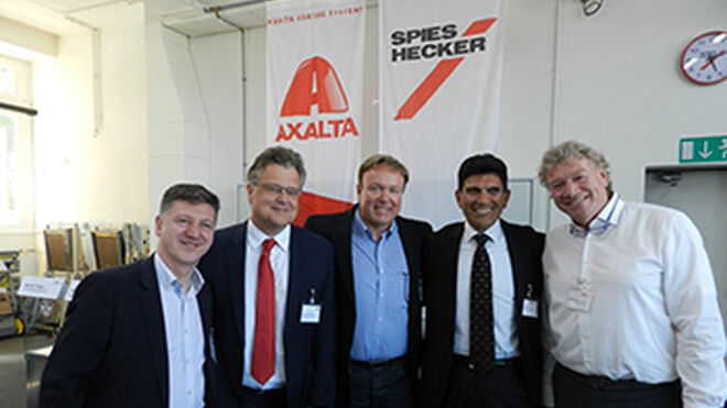 Axalta adquiere CH Coatings AG, distribuidor de Spies Hecker