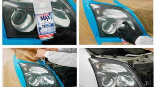 Opel recomienda los aerosoles SprayMax para la reparación de faros