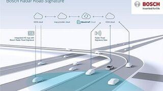 Bosch crea mapas con señales de radar para coches autónomos