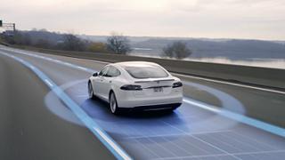 Por qué influye la pintura en los coches autónomos