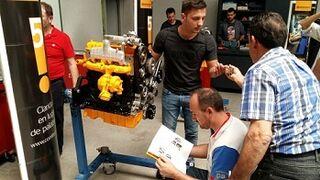 ContiTech forma a socios de Serca en la reparación de motores