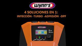 Wynn's MultiServe, máquina de limpieza 4 en 1