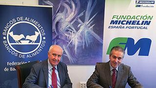 La Fundación Michelin equipará los vehículos de los bancos de alimentos de España