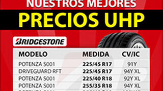 Continúa el mes UHP de Soledad con Michelin y Bridgestone