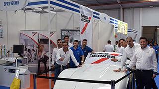 Spies Hecker participó en la 1ª Feria del Recambio y Maquinaria
