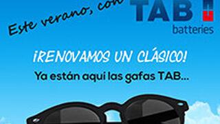 TAB Spain regala gafas de sol por la compra de una batería