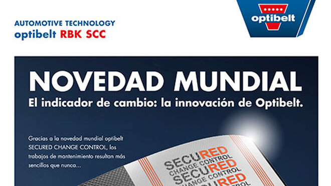 Mantenimiento sencillo con Optibelt