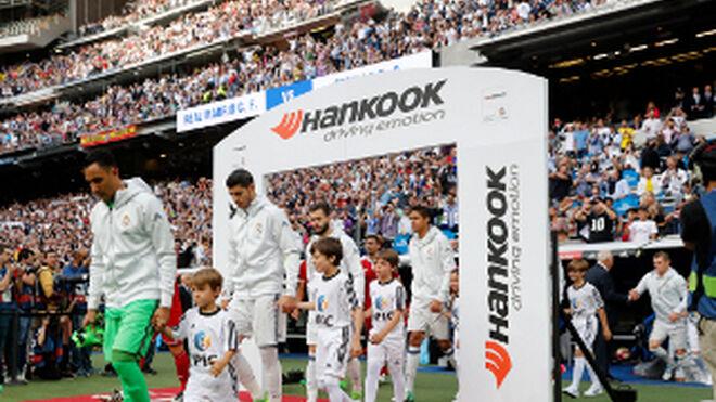 Hankook asocia su crecimiento con los éxitos del Real Madrid