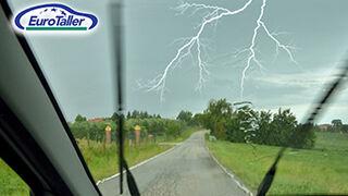 Cómo actuar ante una tormenta eléctrica en verano