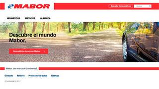 Mabor estrena página web en España
