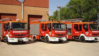 Un vagón cargado de neumáticos arde en Chinchilla (Albacete)