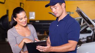 Ganarse la confianza del cliente del taller