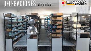 Reynasa duplica la capacidad de su almacén de Alcobendas