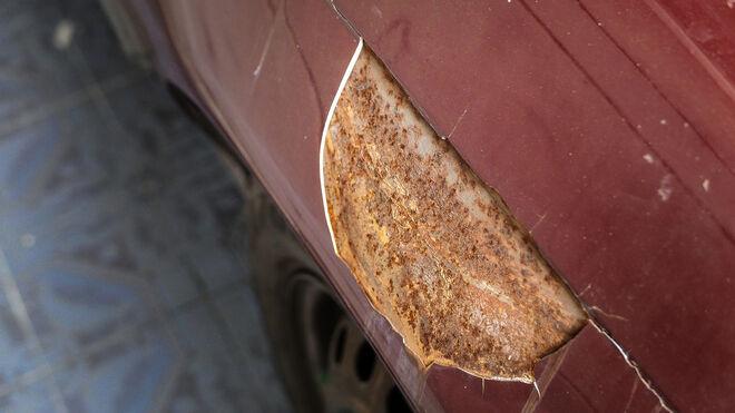Combatir el óxido en los vehículos