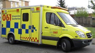 Una persona resulta herida tras ser atropellada en un concesionario