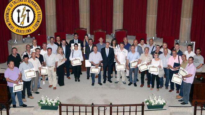 El Gremi de Talleres homenajea a los socios que cumplen 25 y 50 años