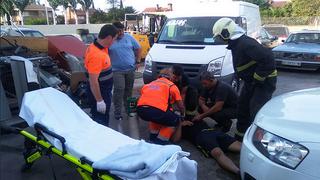El incendio de un taller en Navarra provoca cinco intoxicados
