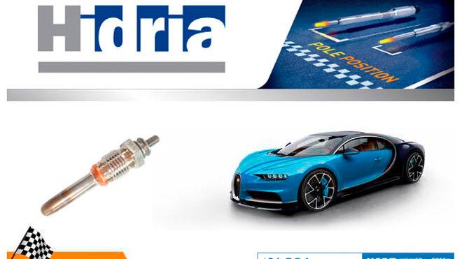 Hidria, nuevo proveedor de calentadores para el Bugatti Chiron