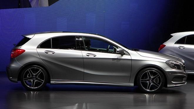 El Mercedes Clase A es uno de los modelos afectados por la llamada a revisión