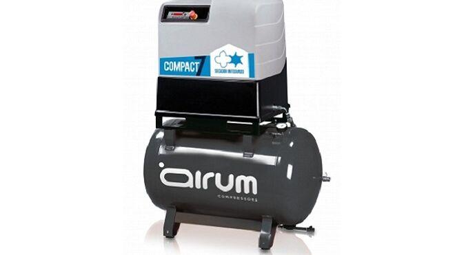 Airum presenta su nuevo compresor rotativo de tornillo Compact7