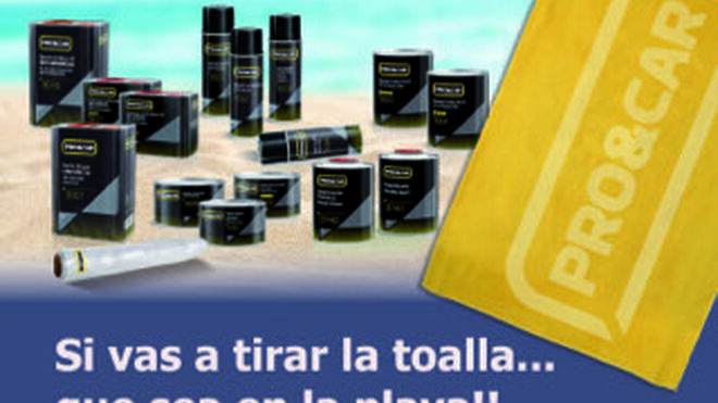 Pro&Car regala toallas para la playa a sus clientes
